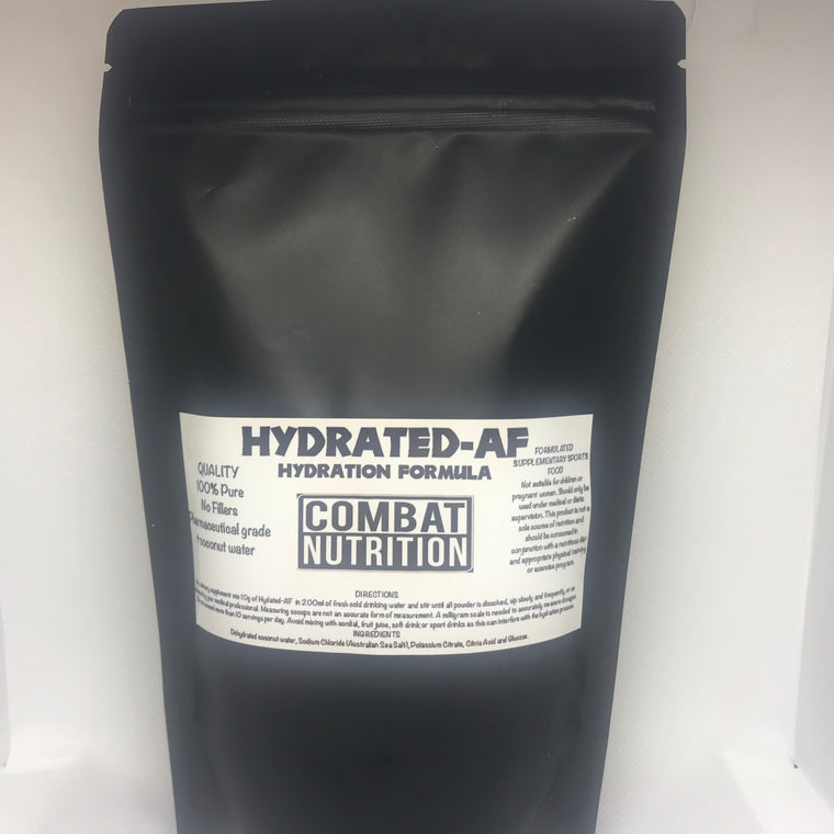 Hydrated-AF - combat nutrition