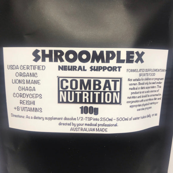 shroomplex neural support - combat nutrition