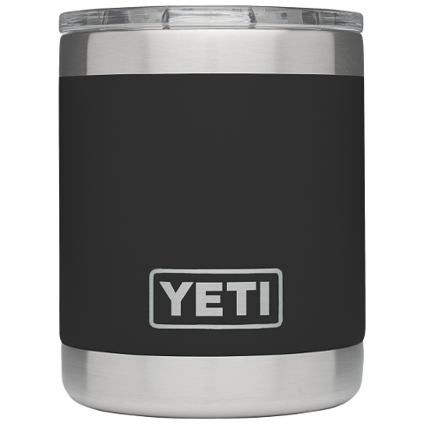 Yeti Rambler 10oz Lowball Black
