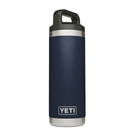 Rambler 18oz Bottle Navy