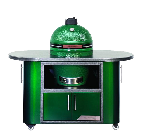 Large Big Green Egg Compact Custom Island