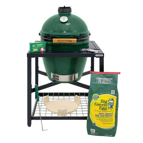 Large Big Green Egg Modular Package