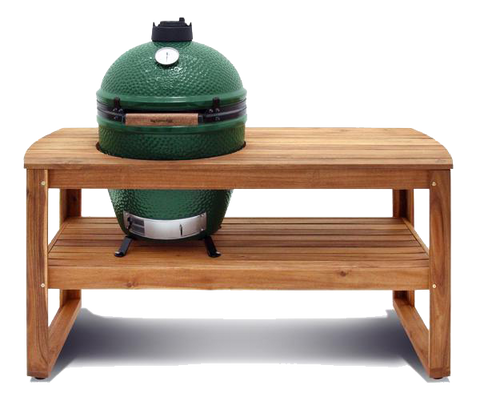 Large Big Green Egg Hardwood Acacia Table