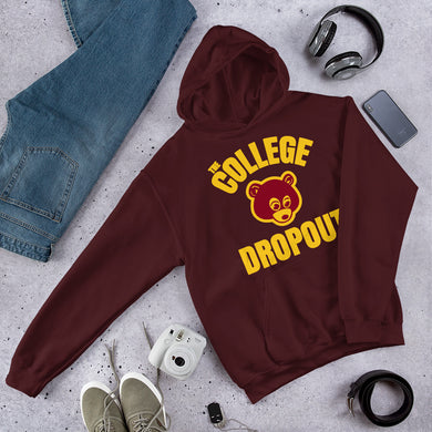The College Dropout Hoodie (Flere farger) - TeeHop