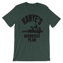 Kanye's Workout Plan (Multiple Colours) - TeeHop