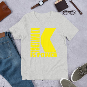 Knowledge (Multiple Colours) - TeeHop