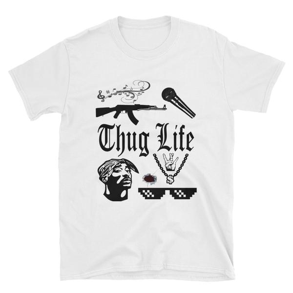 Thug Life (Multiple Colours) - TeeHop
