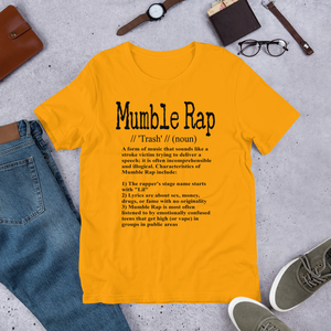Mumble Rap definit (diversos colors)
