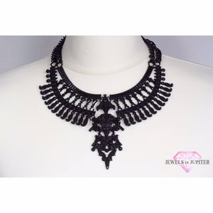 Hyperion - Exquisite Black Necklace - Jewels of Jupiter