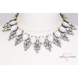Polaris - White Gem Necklace - Jewels of Jupiter