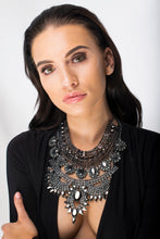 Arcturus - Black Bib Necklace - Jewels of Jupiter