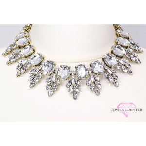 Polaris - Clear Gem Necklace - Jewels of Jupiter