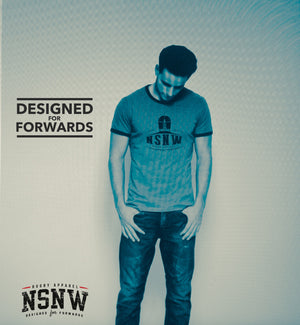 NSNW blue cotton rugby t-shirt