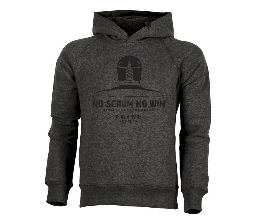 Rugby hoodie for rugby forwards by no scrum no win