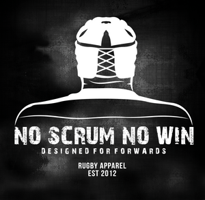no scrum no win 1 head sticker