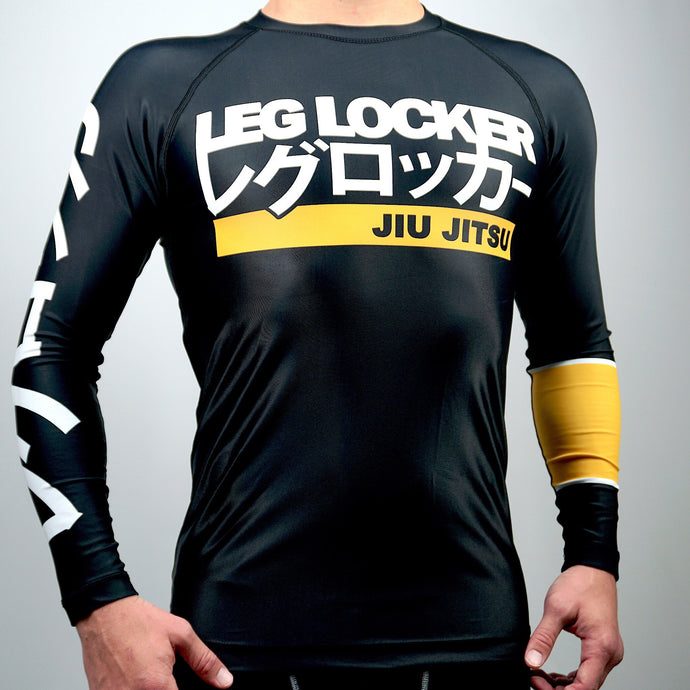 Long Sleeve Black Rashguard