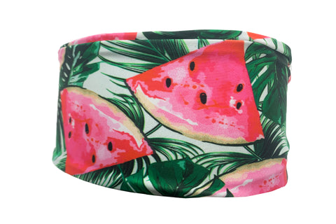 Watermelon Palms Yoga Style Headband