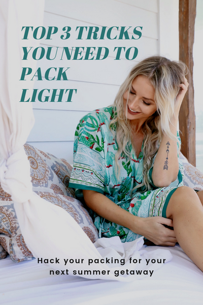 Pin: Top 3 Tricks You Need to Pack Light