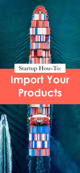 Startup How-To: Import Your Products