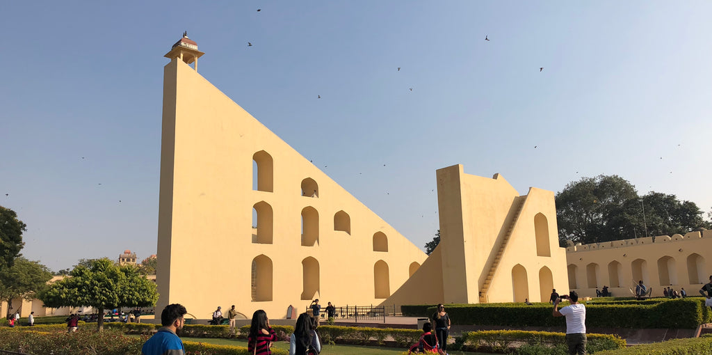 World's Largest Stone Sundial at Jantar Mantar