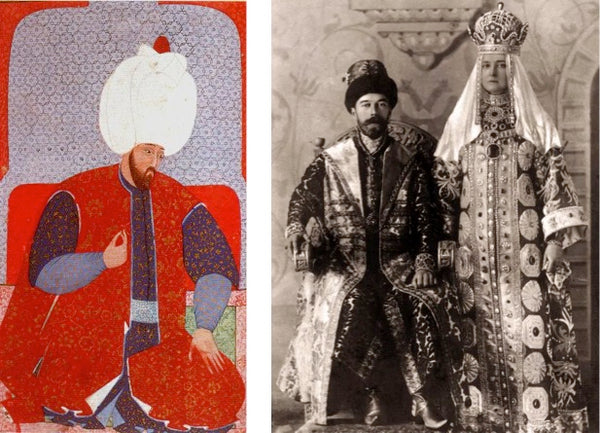 Ottoman Kaftan and Russian Coronation Robes