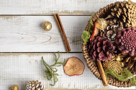 Try a seasonal stovetop potpourri to fill your home with decadent aromas on a budget! Photo by Mel Poole on Unsplash.