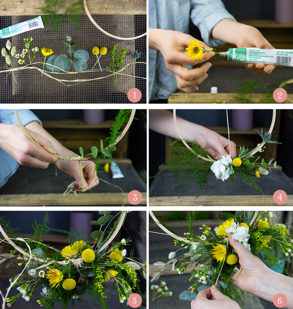 Tutoriel DIY Flower Hoop