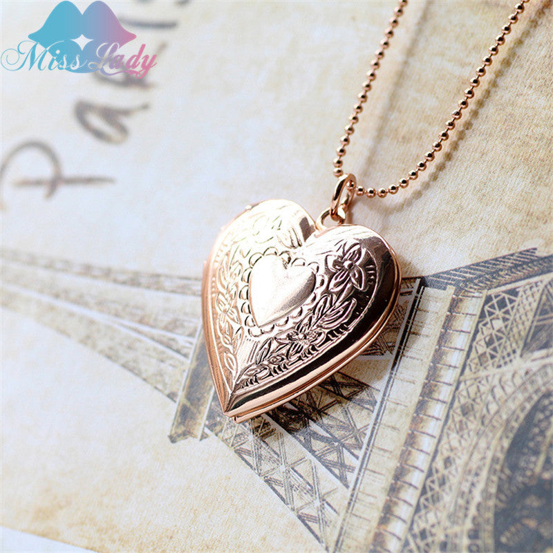 hearts pocket watches necklace
