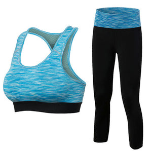 2018 New Girl clothes Fitness Women Yoga Set Workout