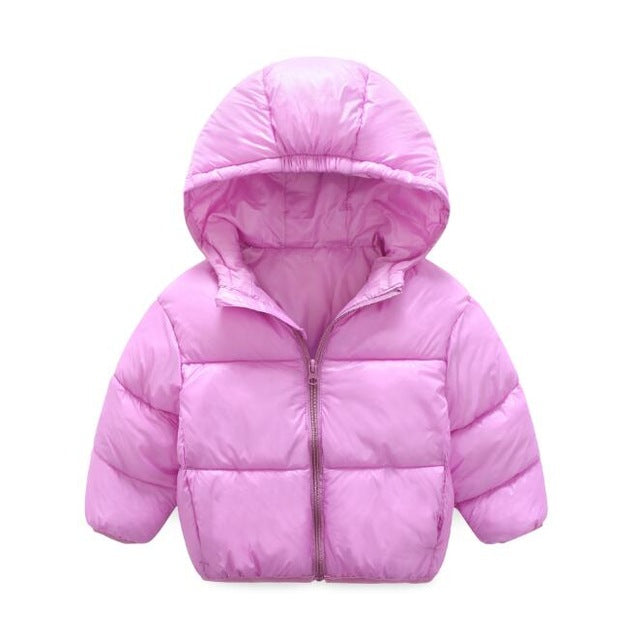 2 colors Boys Jacket Children's baby and Girls Warm Coat  for 2-6 yrs