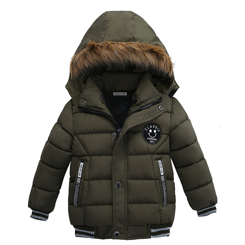 2018 New Baby Winter Coat Kids Warm Winter Outerwea