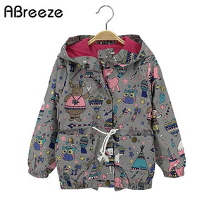 2018 New Summer autumn children Top clothing girls casual kids girls jackets 2-8T