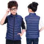 Children Clothing Boys Girls Warm Waistcoats