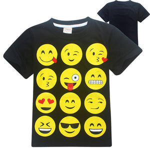 2018 Children Clothes Summer Girls Boys Tops Tees