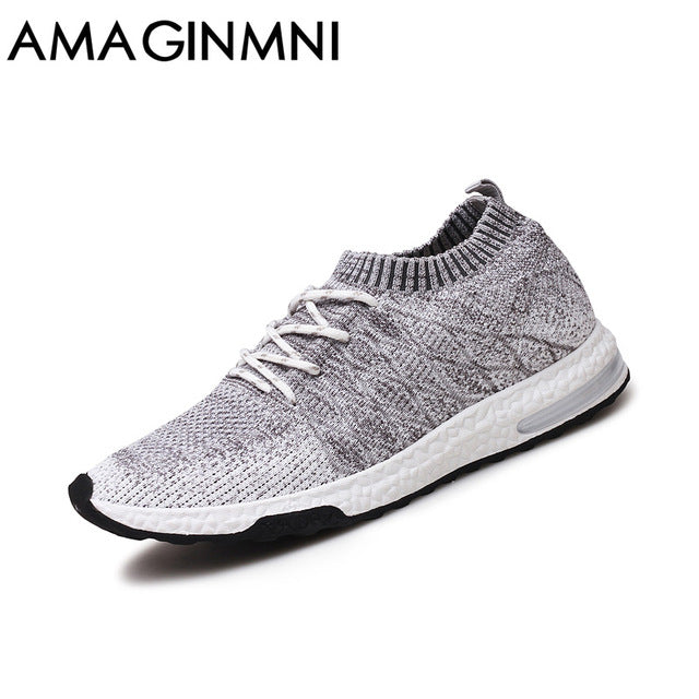2017 New Breathable Mesh Summer Men Casual Shoes Slip On