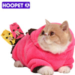 Thermal Soft Coral Velvet Cat Clothing