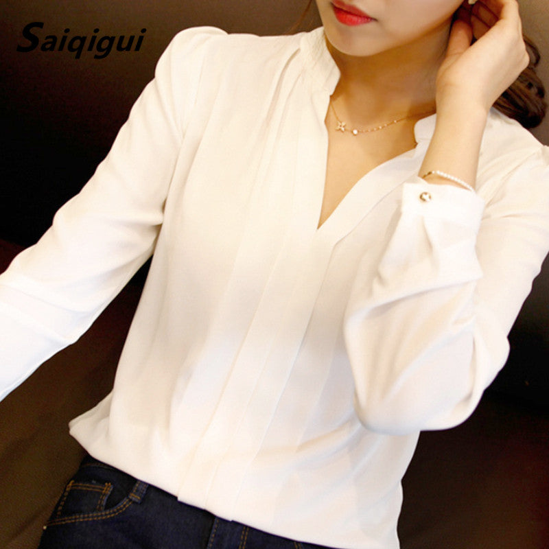 i Blusa  Spring Fall New Womens  Blouses