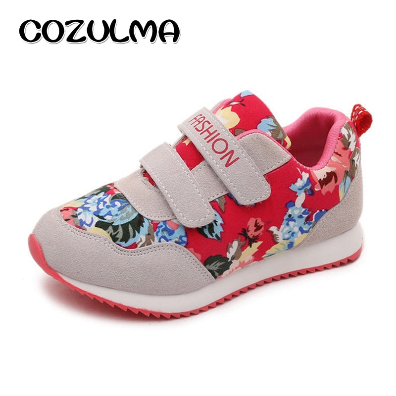 COZULMA Brand Children Casual Shoes Boys Girls Fashion Kids Flat Sports Shoes Size 26-36