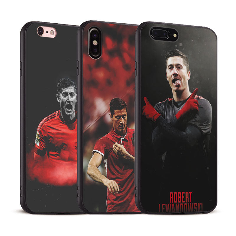 Robert Lewandowski Coque Phone Case For Apple IPhone X 8Plus 8 7Plus 7 6SPlus 6s 6Plus 6 Se 5s