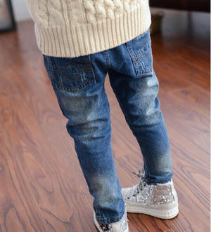 2018 Children Broken Hole Pants Girl Clothes Baby Girls Jeans For