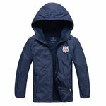 2017 Fashion Brand Children's Boys/GirlBoys Sport Jackets 4-15T years