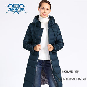 2018 New Winter Jacket Women Plus Size Long Thick Womens Winter