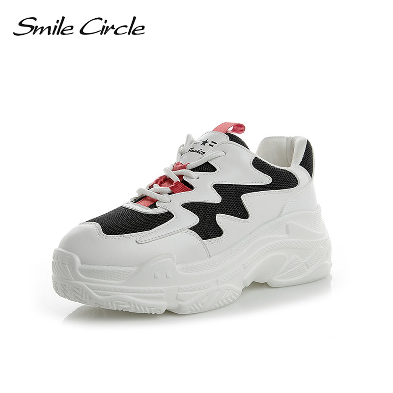 Smile Circle Spring/Autumn Women Shoes  Sneakers