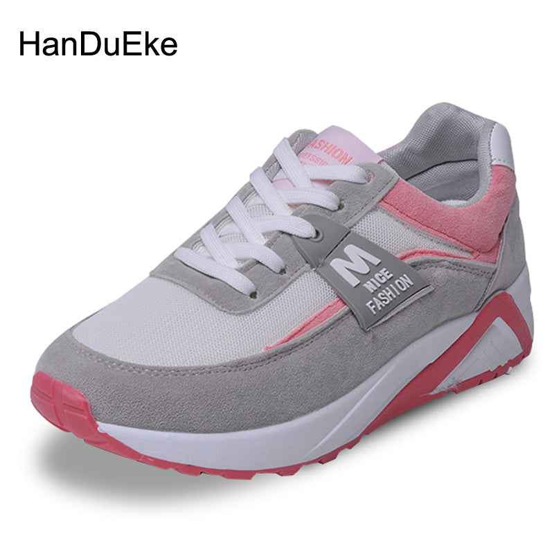 2018 Spring New Women Shoes Mesh Breathable Sneaker