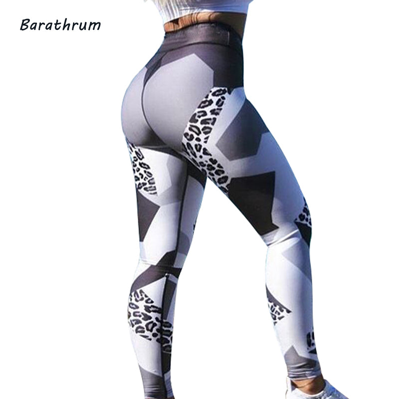 2018 Leopard Print Sexy Leggings Women Fitness