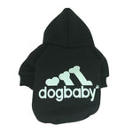 Cotton Pet Cat Clothing Classic Sportwear for