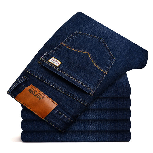 2018 new jantour Jeans Men Fashion Brand-Clothin Size 40 42 44 46