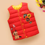 Children's Vest Jackets Girls Boys Vest Baby Waistcoat Children
