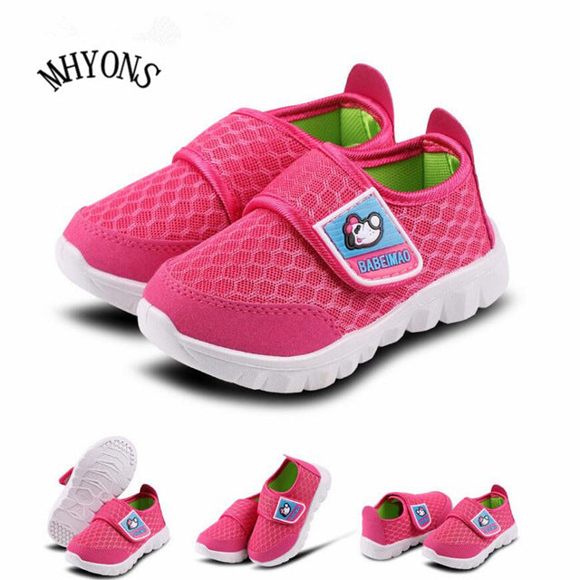 2018 Spring 1 to 8 years old kids shoes baby boys girls casual sports