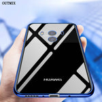 OUTMIX Case for Huawei Mate 10 Lite Pro Mate 9 Pro Nova 2S 2 Plus Enjoy 7S 7 Plus 6S T